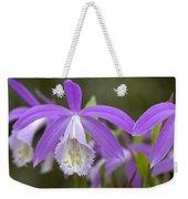 Orchid Pleione Formosana Flowers Weekender Tote Bag