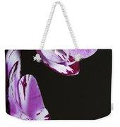 Orchid Stem Weekender Tote Bag