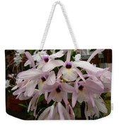 Orchids Beauty Weekender Tote Bag