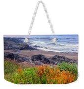 Oregon Coast Wildflowers Weekender Tote Bag