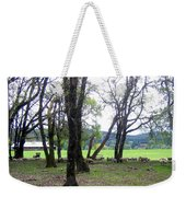 Oregon Sheep Farm Weekender Tote Bag