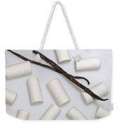 Organic Marshmallows With Vanilla Weekender Tote Bag