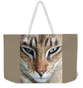 Oriental Cat Weekender Tote Bag