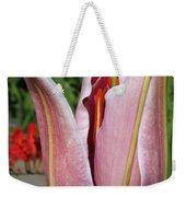 Oriental Lily Named La Mancha Weekender Tote Bag