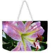 Oriental Lily Named Tom Pouce Weekender Tote Bag