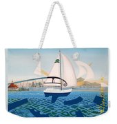 Coronado Sailin' - Memoryscape Weekender Tote Bag