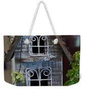 Ornamental Bird House Weekender Tote Bag