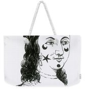 Ornamental Patches On Face, 17th Century Weekender Tote Bag