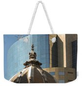 Ornate Old And Plain New Weekender Tote Bag