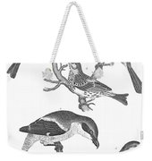 Ornithology, 19th Century Weekender Tote Bag