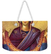 Orthodox Icon Virgin Mary Weekender Tote Bag