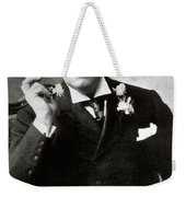 Oscar Wilde, Irish Author Weekender Tote Bag by Photo Researchers