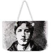 Oscar Wilde Weekender Tote Bag by John  Nolan