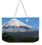 Osorno Volcano Ringed By Clouds Weekender Tote Bag