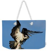Osprey And Rainbow Trout Weekender Tote Bag