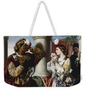 Othello And Desdemona Weekender Tote Bag