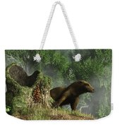 Otter By A Stump Weekender Tote Bag