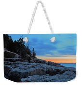 Otter Point At Dawn Weekender Tote Bag