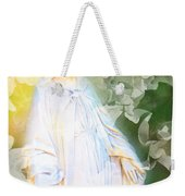 Our Lady Of Nature Weekender Tote Bag