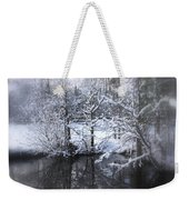 Our Pond In The Snow Weekender Tote Bag