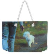 Out For A Stroll Weekender Tote Bag by Karol Livote