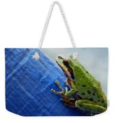 Out From Under The Blue Tarp Weekender Tote Bag
