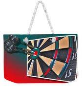 Out Of Bounds Bullseye Weekender Tote Bag