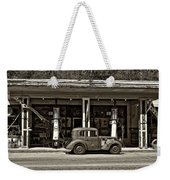 Out Of The Past Sepia Weekender Tote Bag