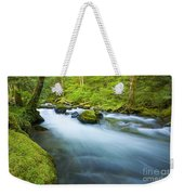 Out Of The Rainforest Weekender Tote Bag by Mike  Dawson