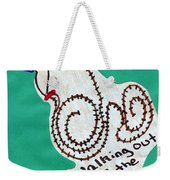 Out Of The Trap Weekender Tote Bag