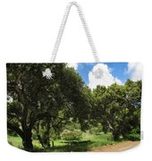 Out On A Country Road Weekender Tote Bag
