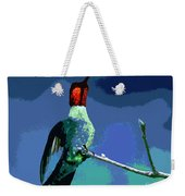 Out On A Limb - Blue Weekender Tote Bag