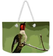 Out On A Limb - Green Weekender Tote Bag