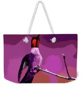 Out On A Limb - Pink Weekender Tote Bag