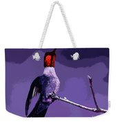 Out On A Limb - Purple Weekender Tote Bag