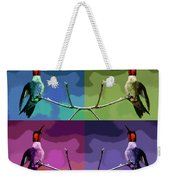 Out On A Limb - Serigraph Weekender Tote Bag