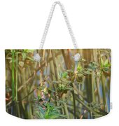 Out On The Pond Weekender Tote Bag