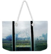 Out The Back Window Of The Delta Blues Museum Clarksdale Ms Weekender Tote Bag