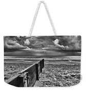Out To Sea Monochrome Weekender Tote Bag