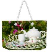 Outdoor Tea Party Weekender Tote Bag by Amanda Elwell