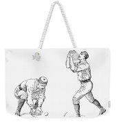 Outfielder, 1889 Weekender Tote Bag