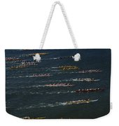 Outrigger Canoes Race From Molokai Weekender Tote Bag