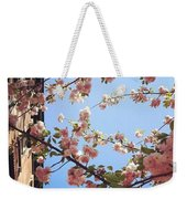 Outside Is The Best Side Weekender Tote Bag