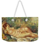 Outstretched Nude Weekender Tote Bag