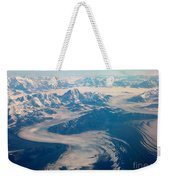 Over Alaska Weekender Tote Bag