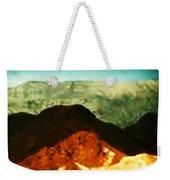 Over The Hills We Go Weekender Tote Bag