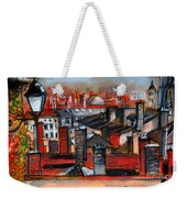 Over The Roofs Weekender Tote Bag