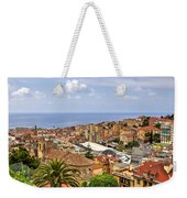 Over The Roofs Of Sanremo Weekender Tote Bag by Joana Kruse