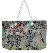Over The Top Digital Art Weekender Tote Bag