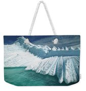 Overturned Iceberg With Eroded Edges Weekender Tote Bag